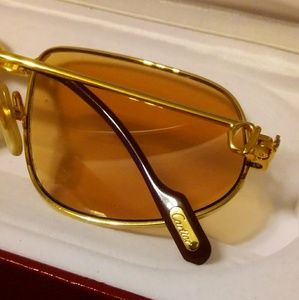 28add1b7858b Cartier Accessories - Mens vintage CARTIER PANTHERE SUNGLASSES 100%